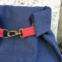 The Ochils Bag - Denim/Country Red